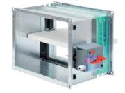 Klapa przeciwpożarowa ETPL-1 z wyzwalaczem termicznym, fot. FlaktWoods
