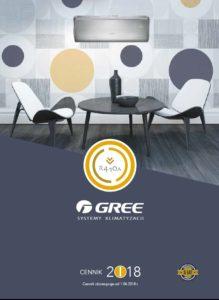 Cennik Gree 2018 R410A