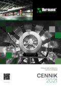 Harmann 2021, wentylatory, centrale, kratki wentylacyjne