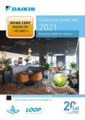 Daikin 07.2021, klimatyzatory rezydencyjne